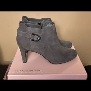 Bandolino grey booties